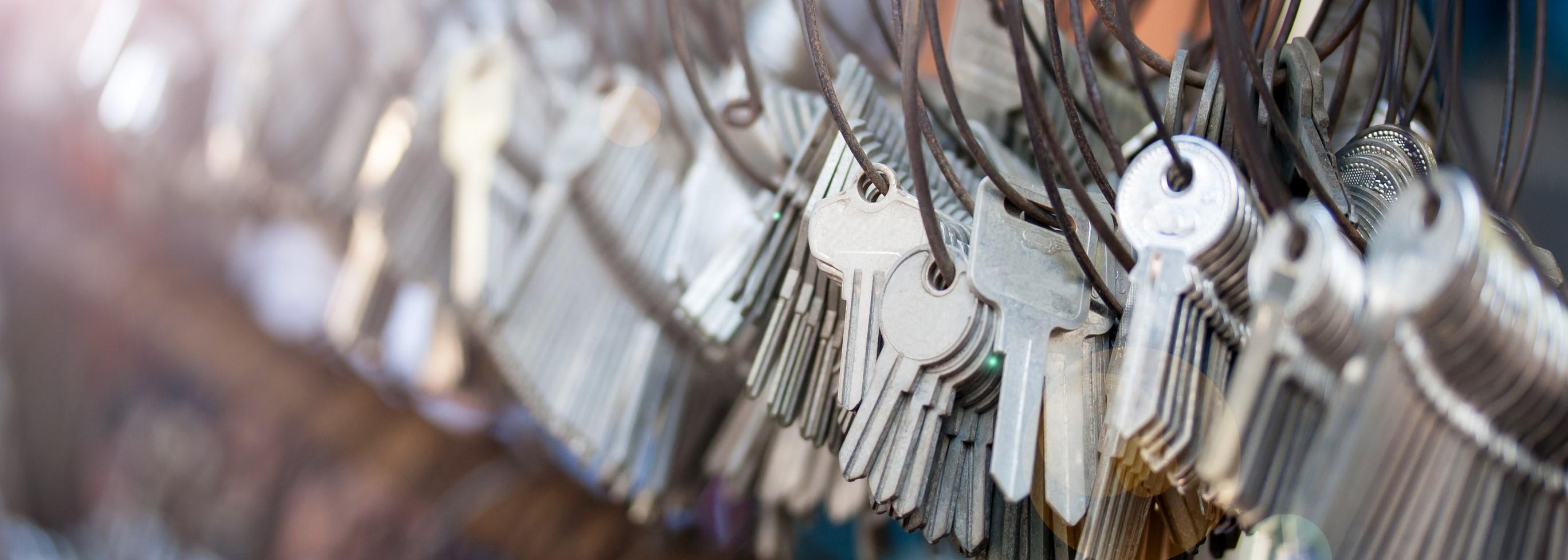 Poorly Done Locksmith Job Keys